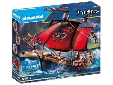 Playmobil Πειρατές Πειρατική ναυαρχίδα