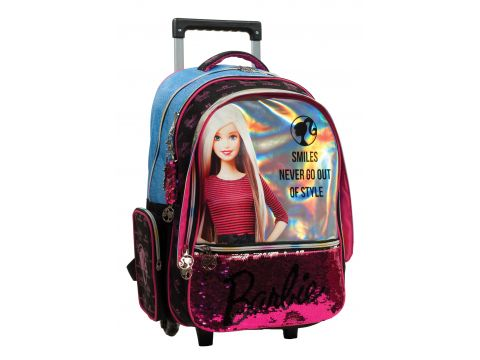 GIM Σακίδιο Trolley Barbie Denim Fashion