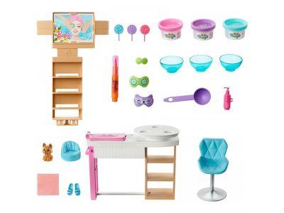 Mattel Barbie Wellness Face Spa Day - Ινστιτούτο Ομορφιάς